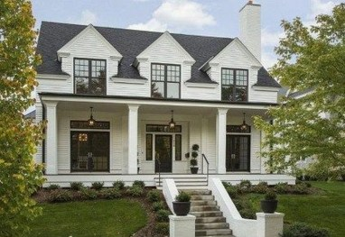 Brilliant Modern Farmhouse Exterior Design Ideas31