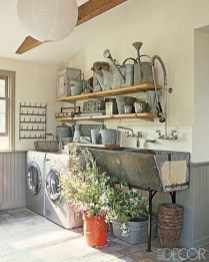 Popular Farmhouse Laundry Room Decorating Ideas12