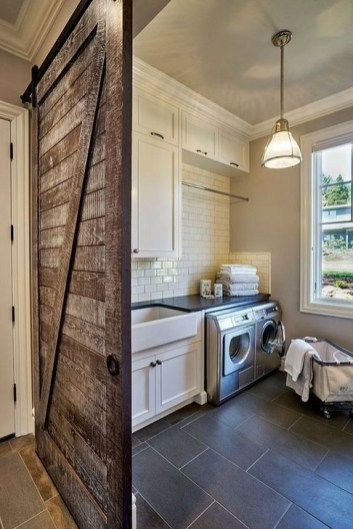 Popular Farmhouse Laundry Room Decorating Ideas38