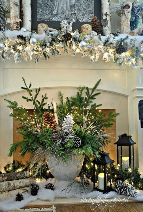 Popular White Christmas Design And Decor Ideas06