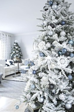 Popular White Christmas Design And Decor Ideas28