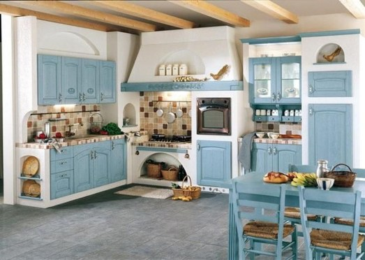 Popular French Country Kitchen Decoration Ideas For Home06
