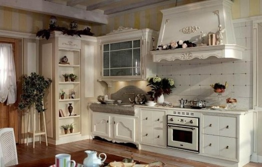 Popular French Country Kitchen Decoration Ideas For Home07
