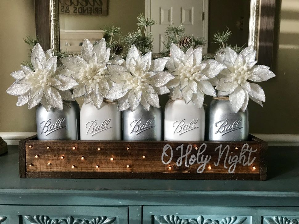 Romantic Rustic Christmas Decoration Ideas16