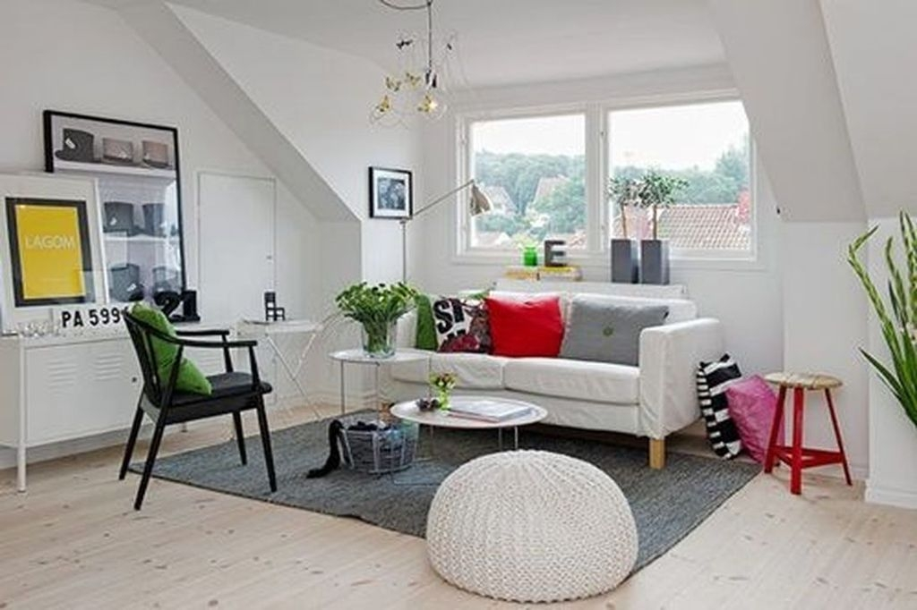 Simple Scandinavian Interior Design Ideas For Living Room42