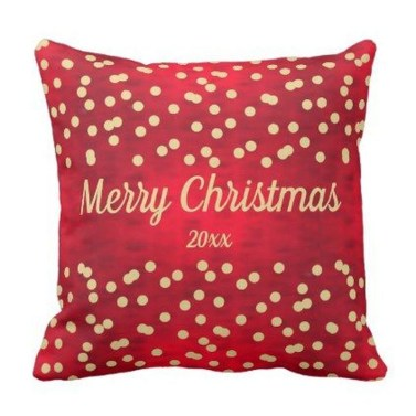 Stunning Red Christmas Pillow Design Ideas07
