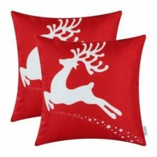 Stunning Red Christmas Pillow Design Ideas21