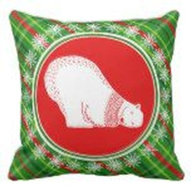 Stunning Red Christmas Pillow Design Ideas43