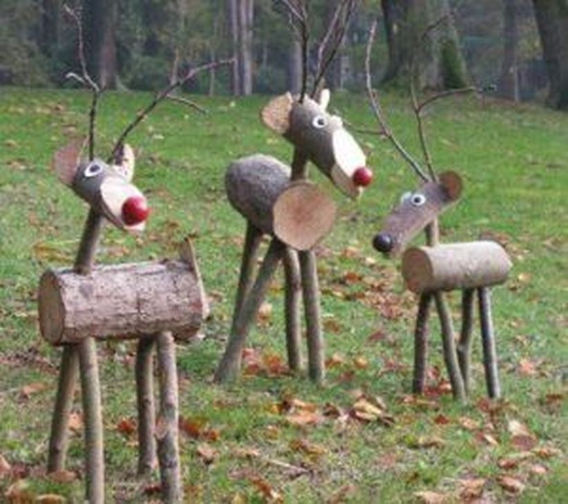 Stylish Diy Outdoor Christmas Decoration Ideas18