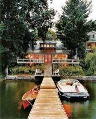 Attractive Lake House Home Design Ideas11