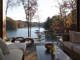 Attractive Lake House Home Design Ideas45
