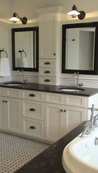 Elegant Bathroom Cabinet Remodel Ideas10