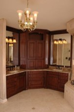Elegant Bathroom Cabinet Remodel Ideas19