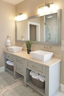 Elegant Bathroom Cabinet Remodel Ideas35