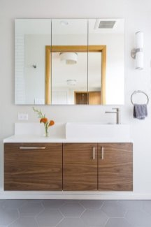 Elegant Bathroom Cabinet Remodel Ideas37