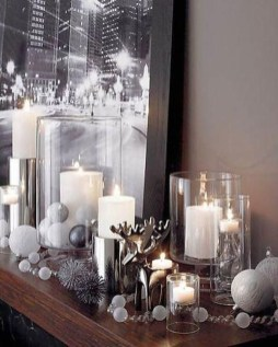 Perfect White Christmas Decoration Ideas30