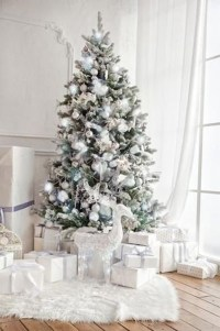 Perfect White Christmas Decoration Ideas39