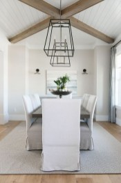 Cute Farmhouse Dining Room Table Ideas29