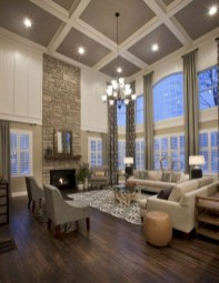 Amazing Dark Hardwood Floors Ideas For Living Room25