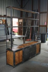 Beautiful Industrial Furniture Design Ideas With Wood 24
