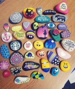 Best Rock Painting Design Ideas11