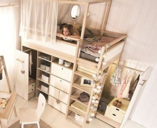 Cheap Space Saving Design Ideas For Kids Rooms 35