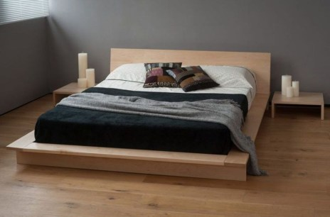 Elegant Platform Bed Design Ideas31