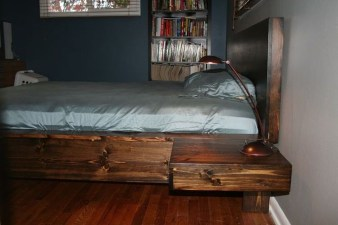 Elegant Platform Bed Design Ideas41