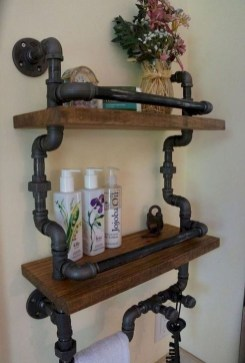 Inexpensive Diy Pipe Shelves Ideas On A Budget35