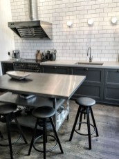 Stunning Stainless Steel Kitchen Tables Ideas13
