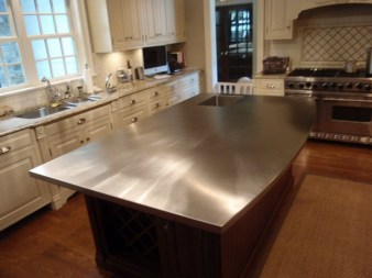 Stunning Stainless Steel Kitchen Tables Ideas20