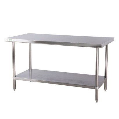 Stunning Stainless Steel Kitchen Tables Ideas39