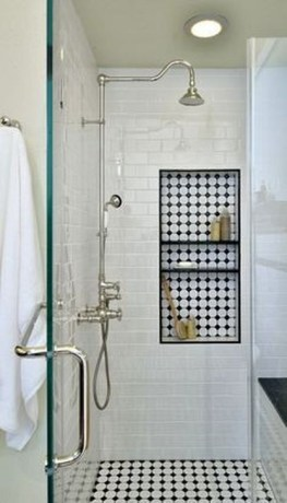 Catchy Bathroom Mosaics Design Ideas 31