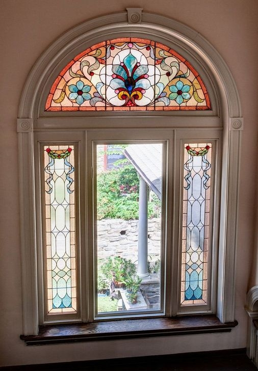 Comfy Stained Glass Window Design Ideas For Home 45