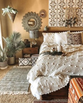 Smart Diy Bohemian Bedroom Decor Ideas 17