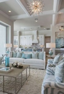 Enchanting Turquoise Living Room Ideas 15