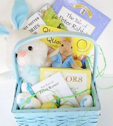 Gorgeous Easter Basket Ideas For Kids 06