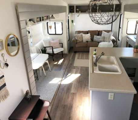 Splendid Rv Camper Remodel Ideas 27