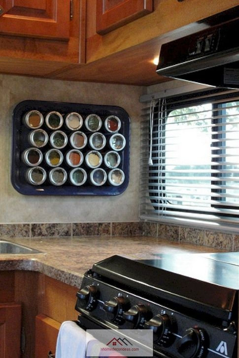 Splendid Rv Camper Remodel Ideas 30