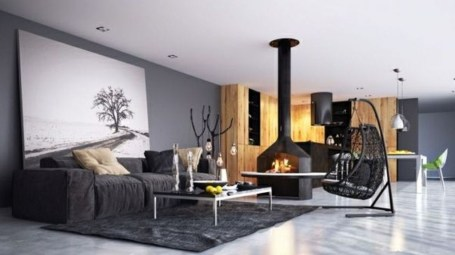 Rustic Living Room Decoration Ideas With Some Ornament 31