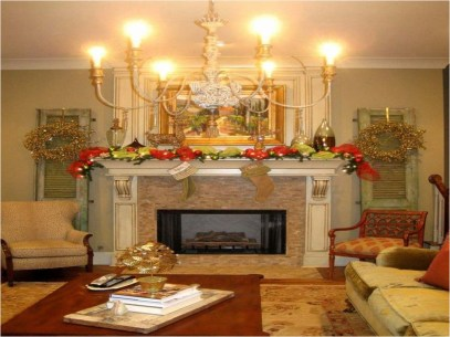 Rustic Living Room Decoration Ideas With Some Ornament 40