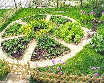 Unusual Vegetable Garden Ideas For Home Backyard 38