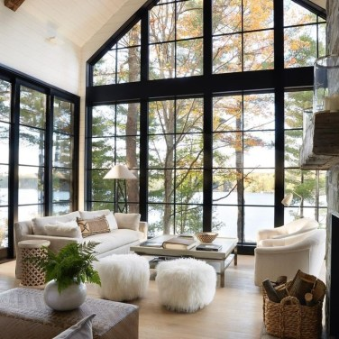 Catchy Glass Window Design Ideas For Home 31