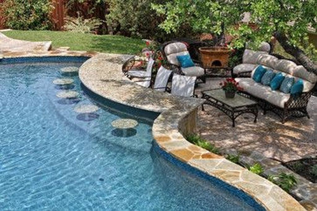 Comfy Backyard Designs Ideas With Swimming Pool Looks Cool 28