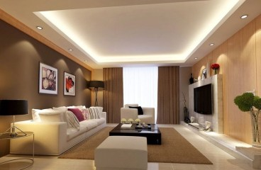 Cool Ceilings Lighting Design Ideas For Living Room To Try 25