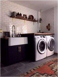 Fancy Laundry Room Layout Ideas For The Perfect Home 14
