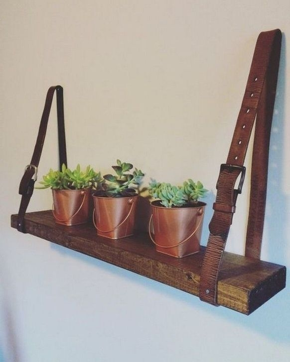 Fascinating Diy Wood And Leather Trellis Plant Ideas For Wall To Try 15