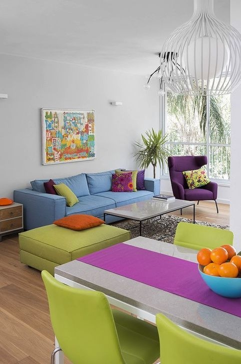 Luxury Colorful Apartment Décor And Remodel Ideas For Summer 01