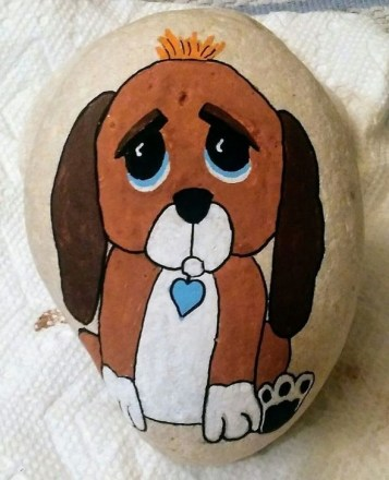 Splendid Diy Projects Painted Rocks Animals Dogs Ideas For Summer 10