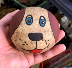 Splendid Diy Projects Painted Rocks Animals Dogs Ideas For Summer 28